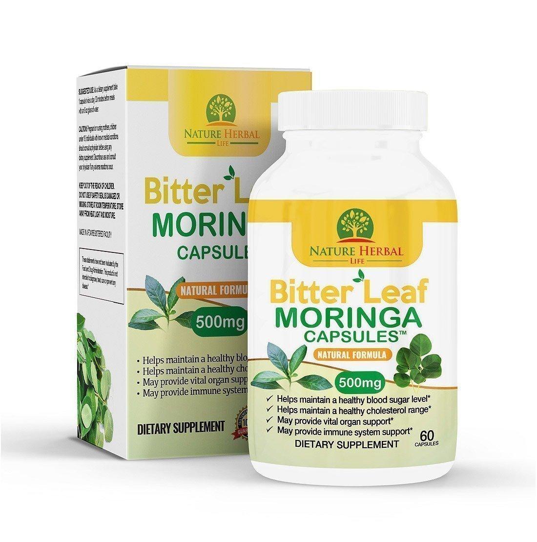 Bitter Leaf Moringa Capsules